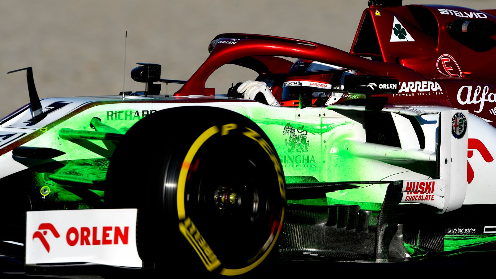 F1 Testing, Day Two: Kimi Raikkonen with late surge but Mercedes grab headlines