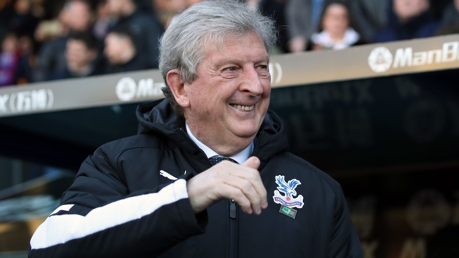 Roy Hodgson offered new Crystal Palace contract, says Steve Parish