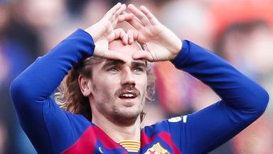 Antoine Griezmann scored the opening goal for Barcelona