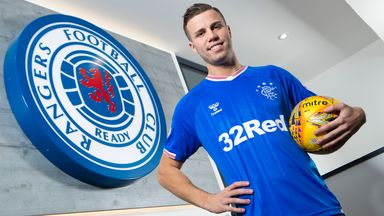 Florian Kamberi has joined Rangers on loan until the end of the season