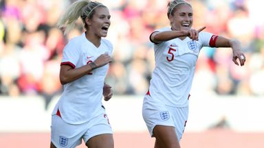 England skipper Steph Houghton (right) will be desperate for success on home soil