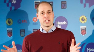 Duke of Cambridge talks #HeadsUp with John McGinn