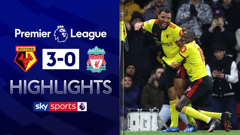 FREE TO WATCH: Highlights from Watford's win over Liverpool in the Premier League