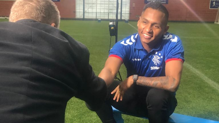 Morelos spoke exclusively to Sky Sports News reporter Craig Slater