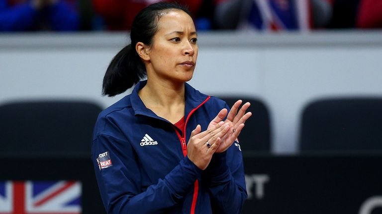 Great Britain captain Anne Keothavong will see her side take on Mexico in a home tie
