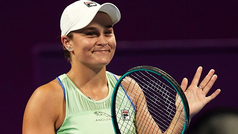 Ashleigh Barty is the current world No 1