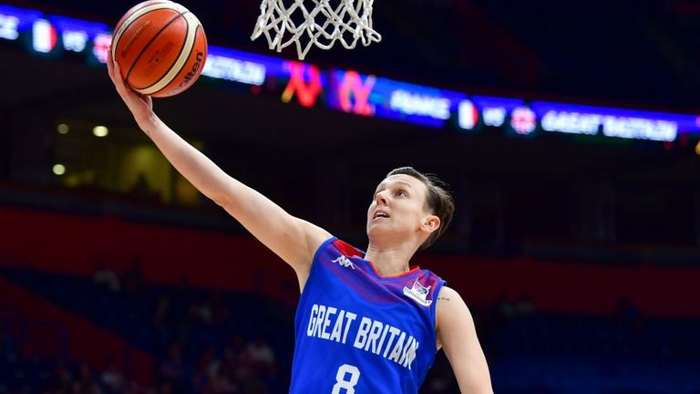"""Chantelle Handy """"FIBA have made the right decision to move it, just for the safety of everybody else."""""""