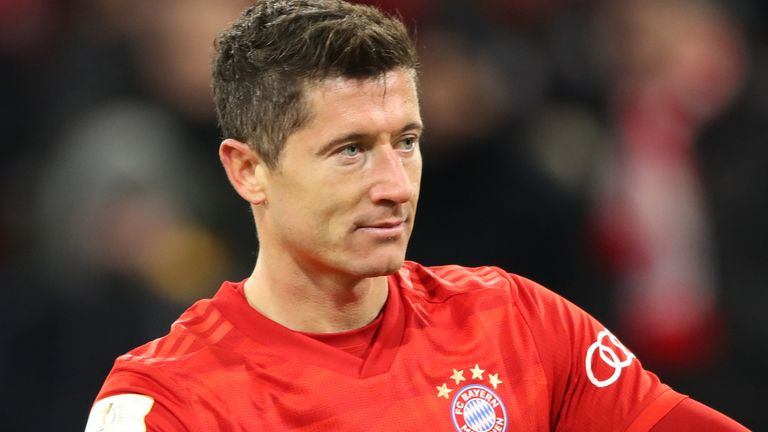 Robert Lewandowski failed to find the target for Bayern Munich against RB Leipzig