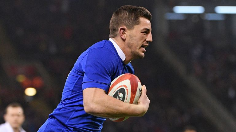 Full-back Anthony Bouthier got France into the game with an early try