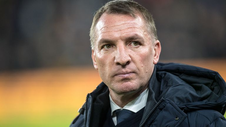 Brendan Rodgers is preparing for the return of the Premier League behind closed doors