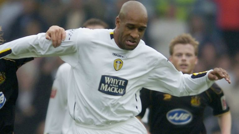 Brian Deane scored 40 goals for Leeds in 179 appearances