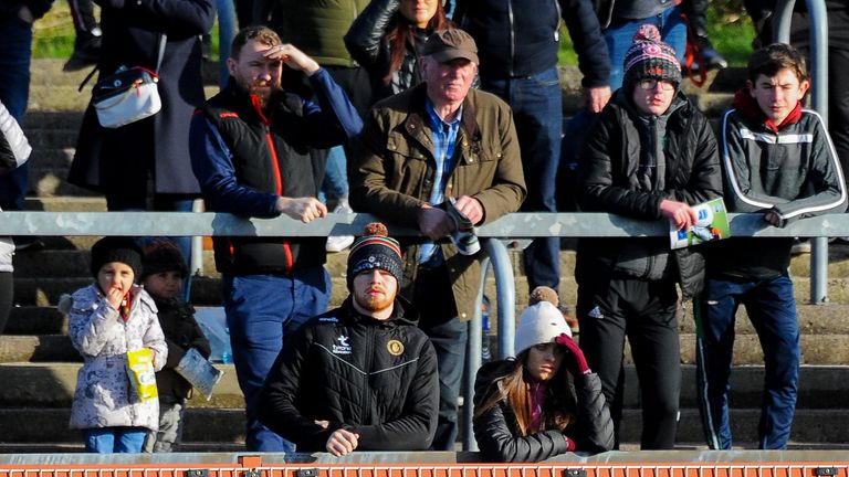 McShane was in the crowd at the league win over Meath last week