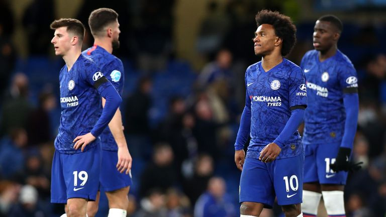 Chelsea suffered a disappointing defeat at home to Manchester United