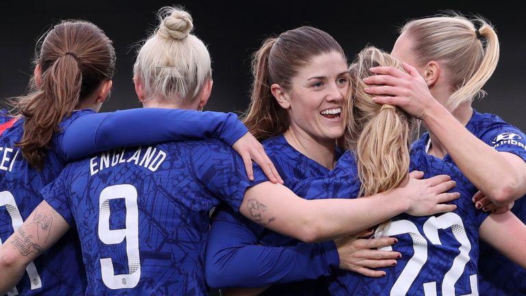 Chelsea were 8-0 winners against West Ham in the Women's Super League