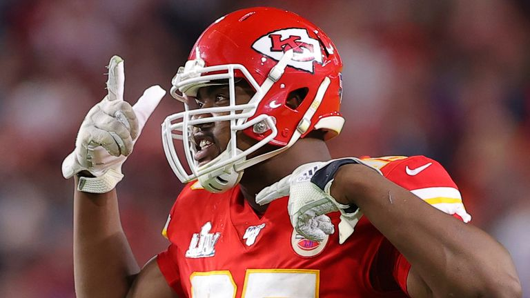 Jones has threatened a holdout over his deal in Kansas City