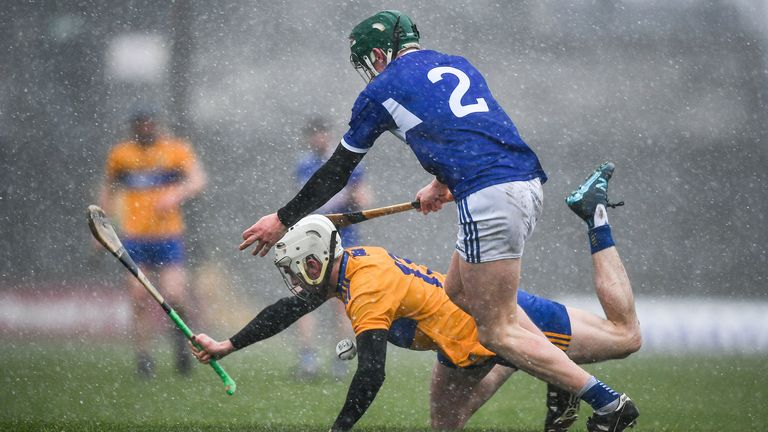 The Cusack Park tie in difficult conditions was perhaps Laois' most positive performance