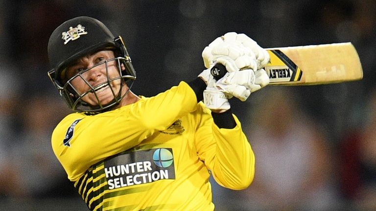 Gloucestershire all-rounder Ryan Higgins could be pushing for an England call-up in the near future