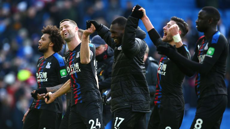 Crystal Palace have secured their place in the Premier League next season