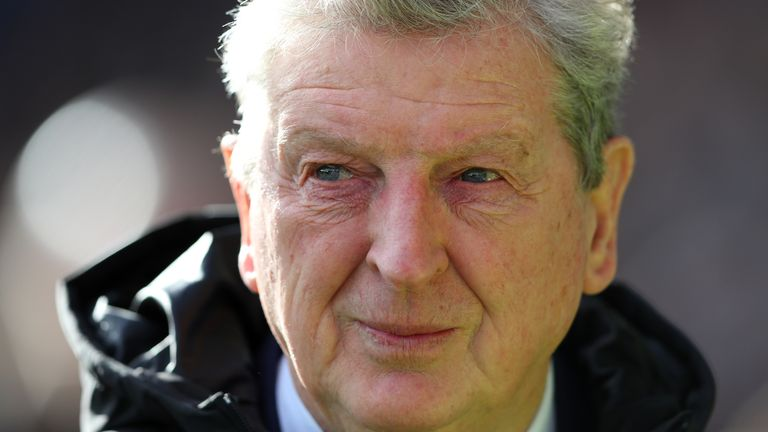 Roy Hodgson signed a new contract at Crystal Palace in March