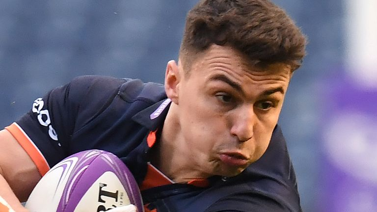 Damien Hoyland has committed his future to Edinburgh Rugby