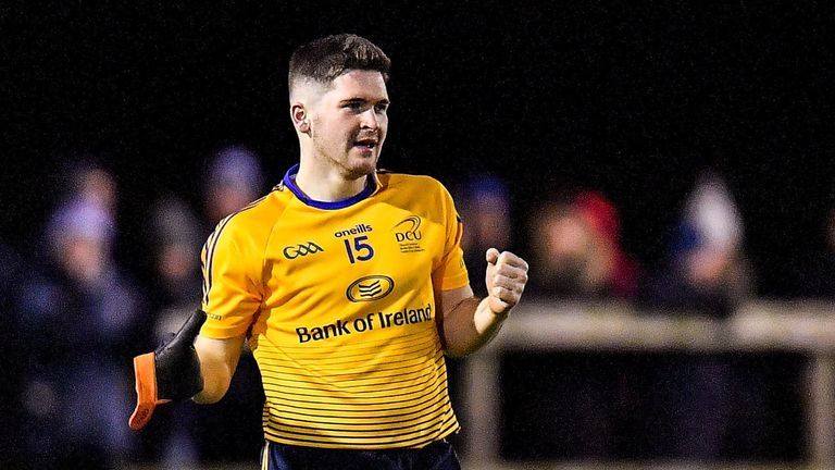 Garland played a central role in DCU's Sigerson Cup success