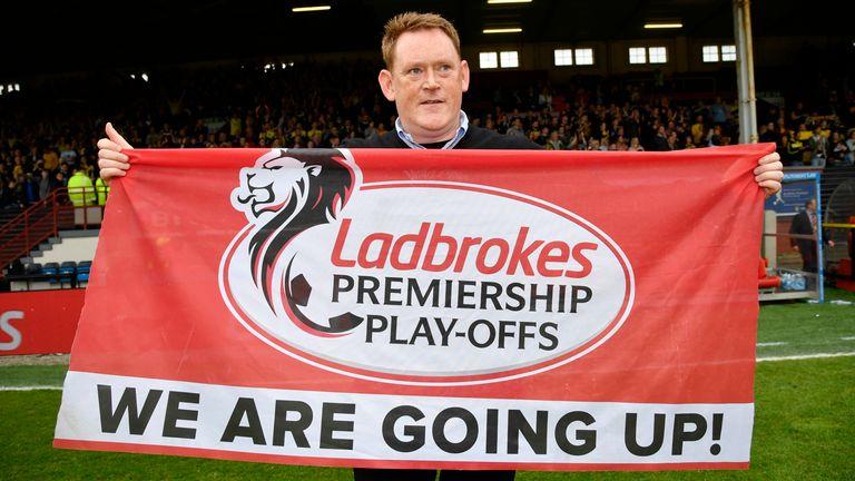 David Hopkin guided Livingston to the Premiership