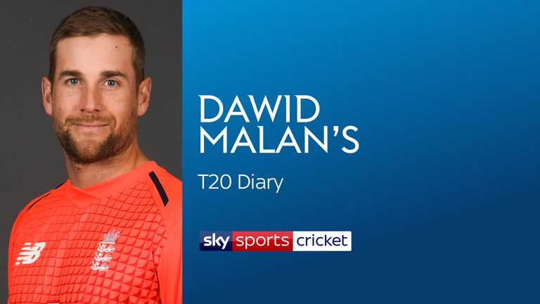 Dawid Malan is part of England's T20I squad in South Africa