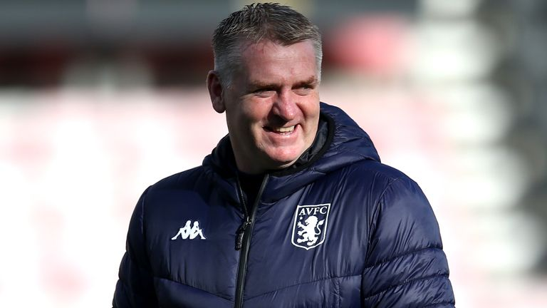 Dean Smith believes Aston Villa are starting to become more consistent