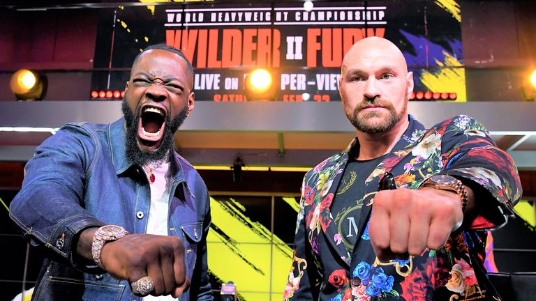 Deontay Wilder faces Tyson Fury again this weekend