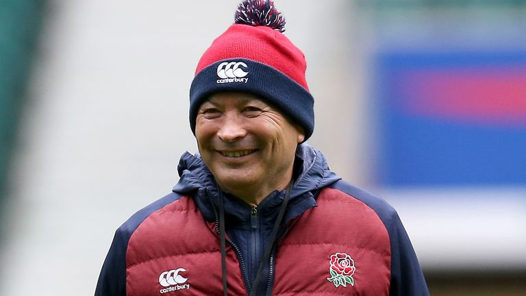 Eddie Jones has changed his approach to coaching over the years