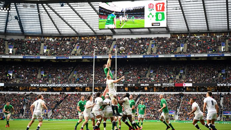 England could face their Six Nations rivals in an end-of-year tournament