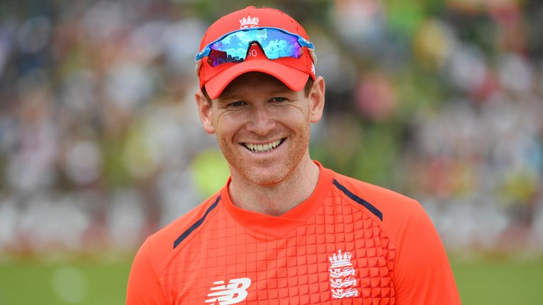 Eoin Morgan is up to ninth in the T20 batting rankings, one place above Virat Kohli
