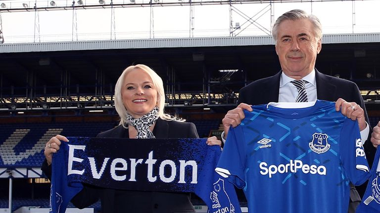 Everton end UK£9.6m a year SportPesa shirt deal