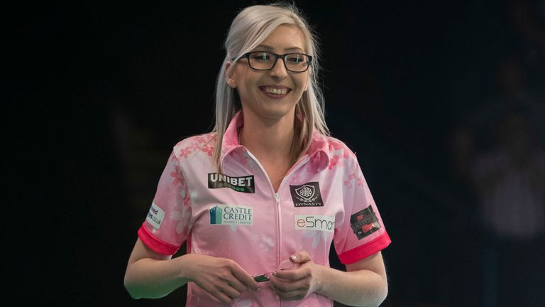 Sherrock found herself on two nine-darters, but failed to convert
