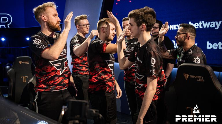 FaZe were by far the most consistent team at the opening weekend of BLAST (Credit: BLAST)