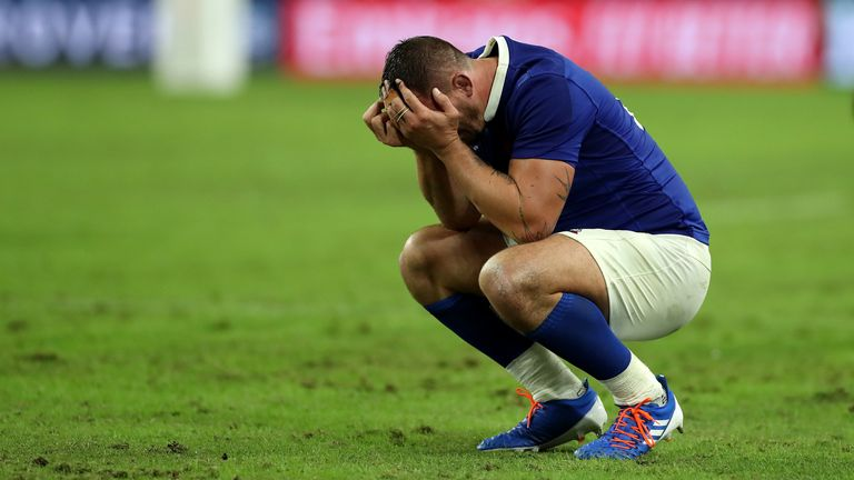 France are top of the Six Nations standings but the tournament could be heavily disrupted by the coronavirus outbreak