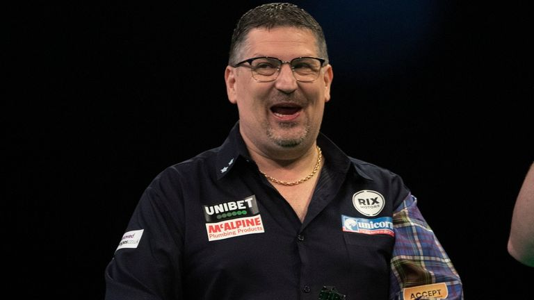 Gary Anderson has been handed a tough group