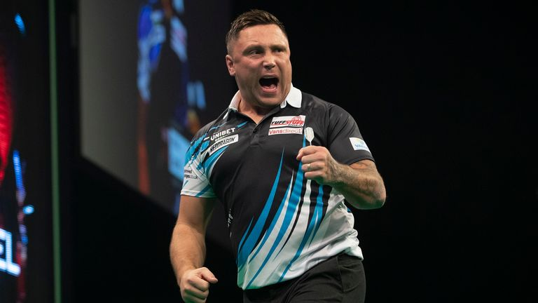 Gerwyn Price stormed to a surprisingly facile triumph
