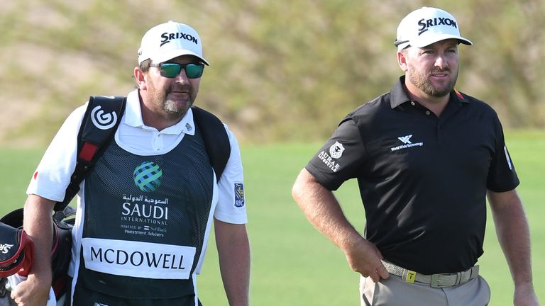 McDowell played alongside Victor Dubuisson during the final round