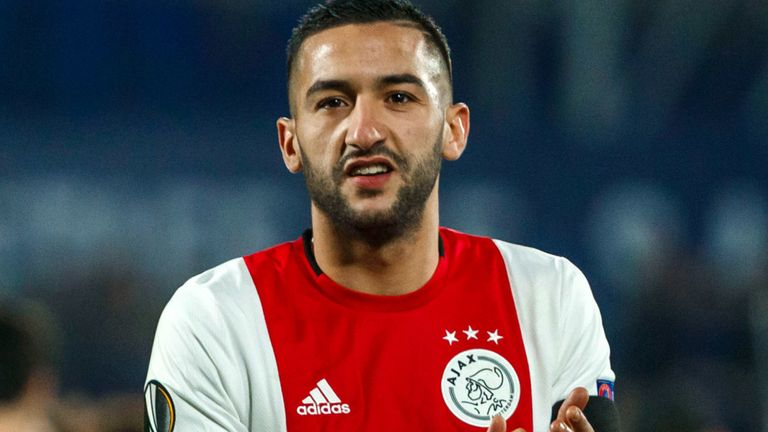 Hakim Ziyech's move from Ajax to Chelsea is one of many that could be delayed