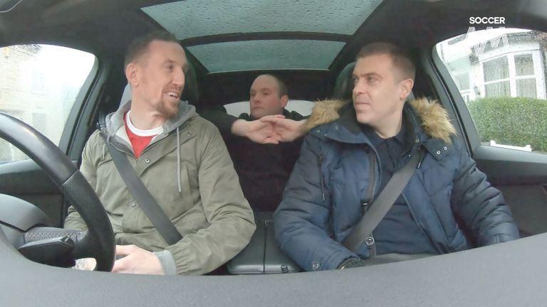 ผลการค้นหารูปภาพสำหรับ Soccer AM's Tubes and Smithy surprise Man Utd super fan