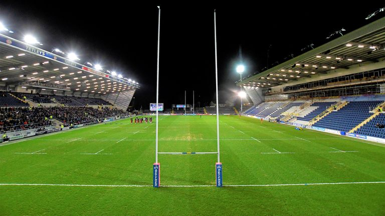 Headingley Stadium is due to host all matches on the first two weekends of Super League's return