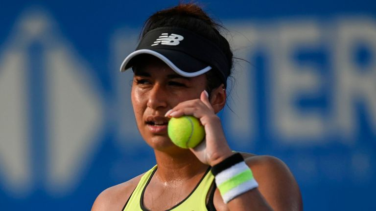 Heather Watson defeated American Coco Vandeweghe in three sets