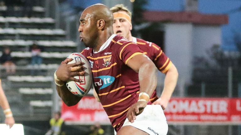 Lawrence is in his 13th season as a professional with Huddersfield Giants