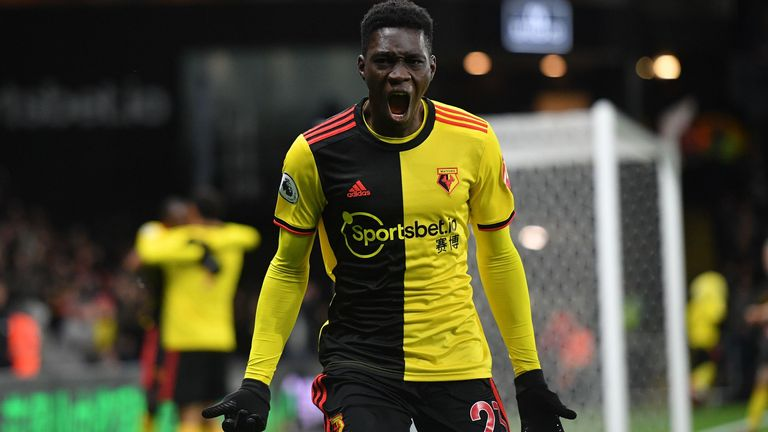 Ismaila Sarr scored his fourth and fifth goals of the season against Liverpool