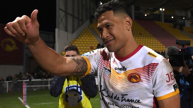 Castleford have prepared for Folau debut, says Daryl Powell