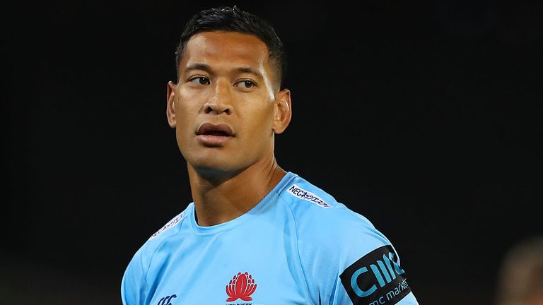 Wakefield boss says Super League has barred comments on Folau
