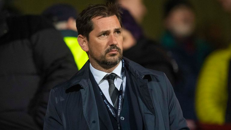 Jackie McNamara returned to Dunfermline last year as a consultant