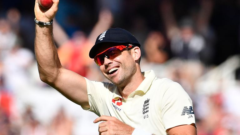 James Anderson says he could play in The Hundred if the red-ball season is wiped out