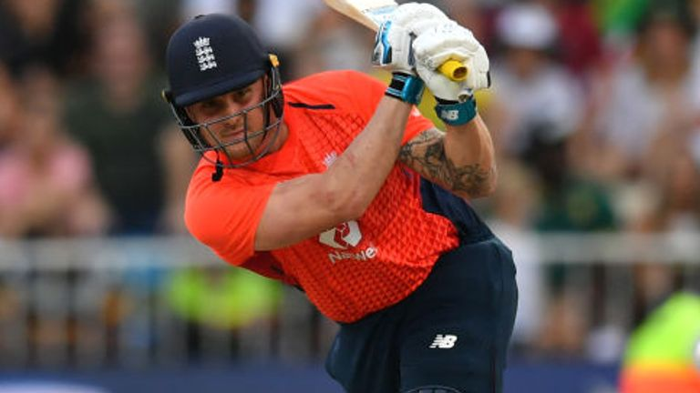 Jason Roy averages 24.57 for England in T20 internationals, with a highest score of 78